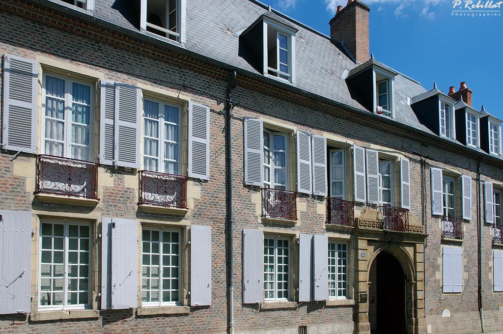 Hôtel de Montlaur à Moulins.