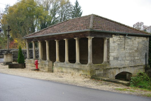Lavoir North, French Heritage monument to Oyrieres.