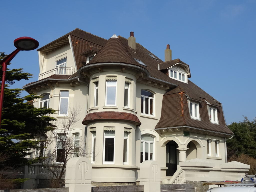 House villa La Malouine, French Heritage monument to Wimereux.
