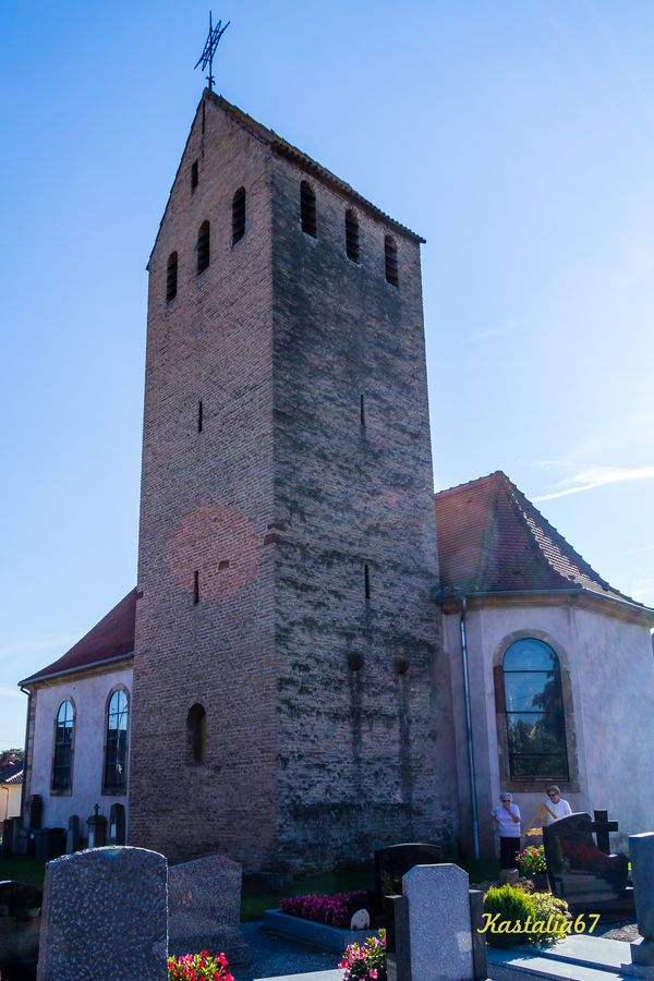 Offenheim Church, French Heritage monument to Stutzheim offenheim.