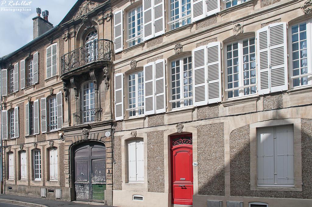 Maison 36 rue des Bouchers à Bayeux.