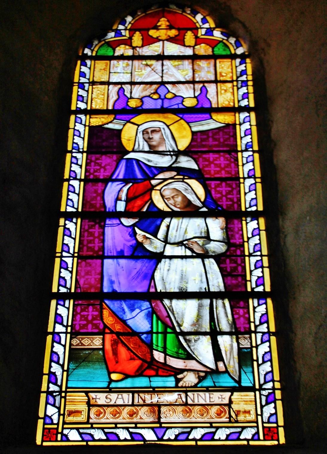 Church Saint-Mamert, French Heritage monument to Montel de gelat.