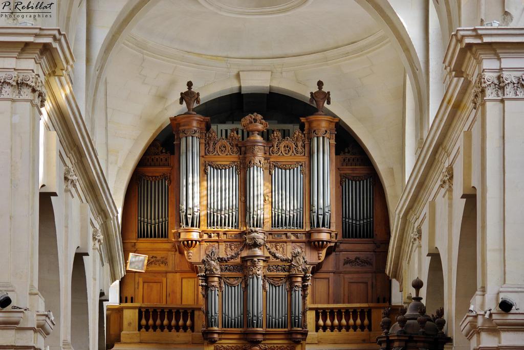 Eglise Saint-Jacques-du-Haut-Pas à Paris 5eme arrondissement.