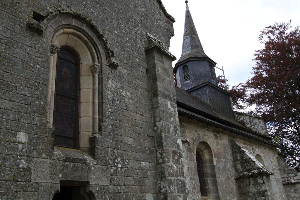 Eglise Paroissiale Sainte-Croix à Rosiers d egletons.