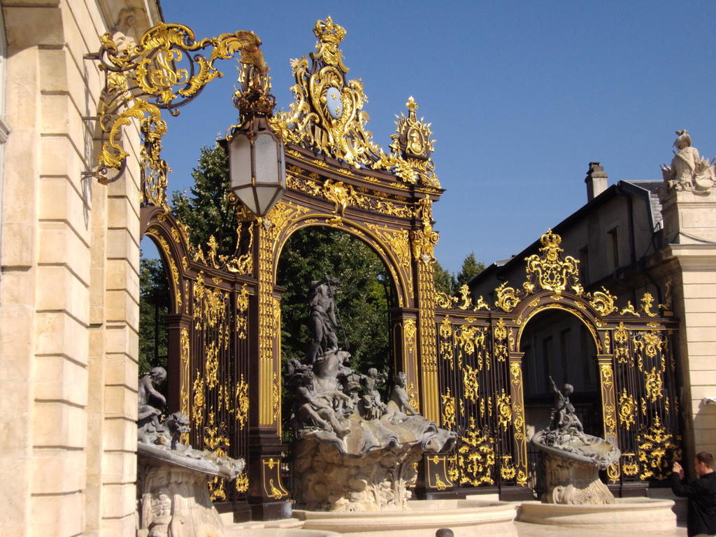 Place Stanislas à Nancy.