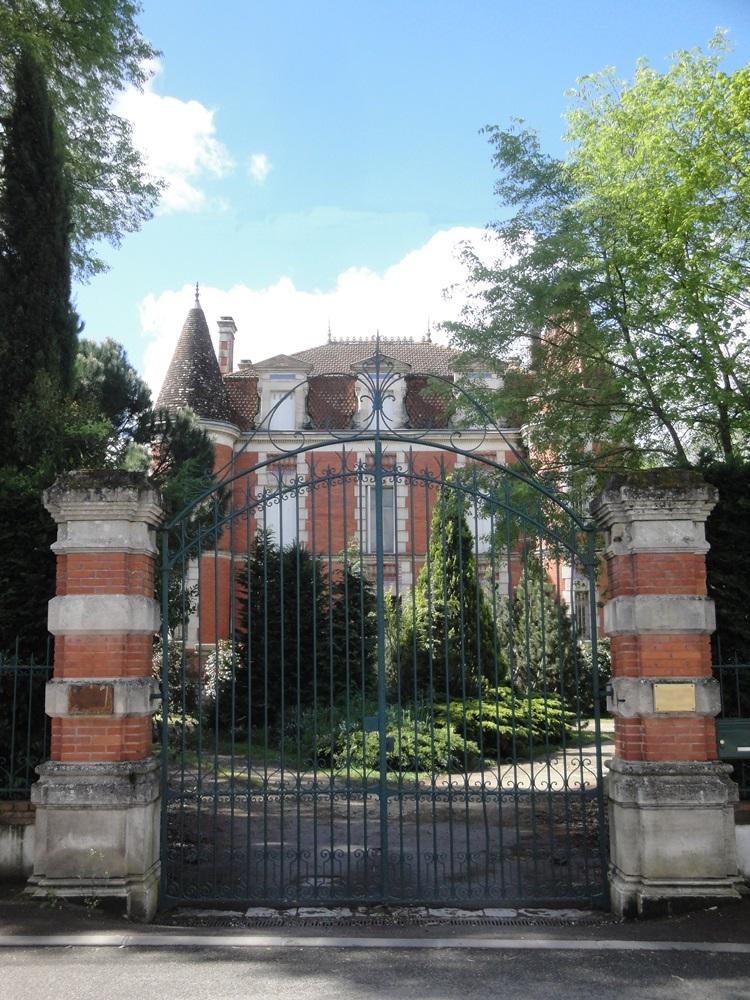 Maison dite Castel Berger à Villeneuve sur lot.