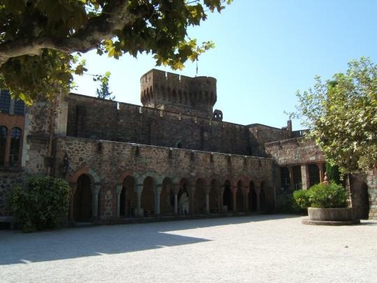 Château de la Napoule à Mandelieu la napoule.