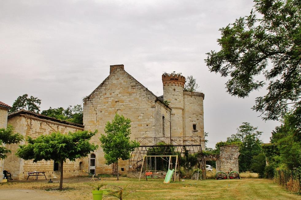 Château à Sistels.