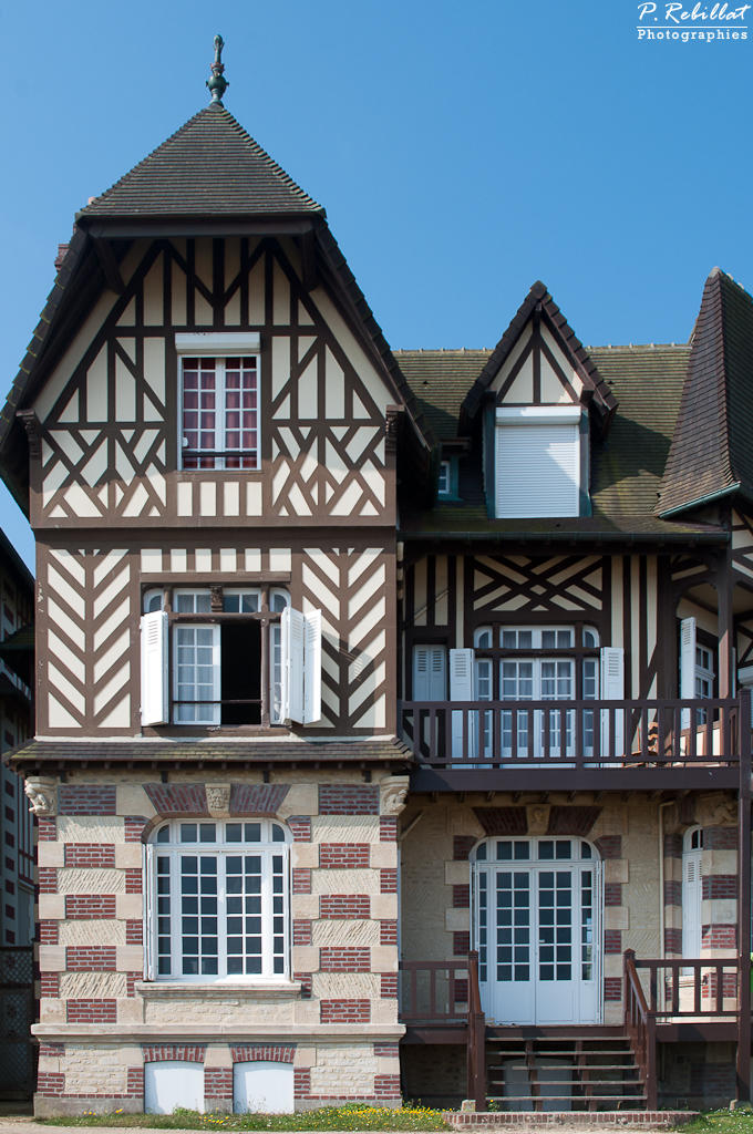 Maison la Néva à Hermanville sur mer.