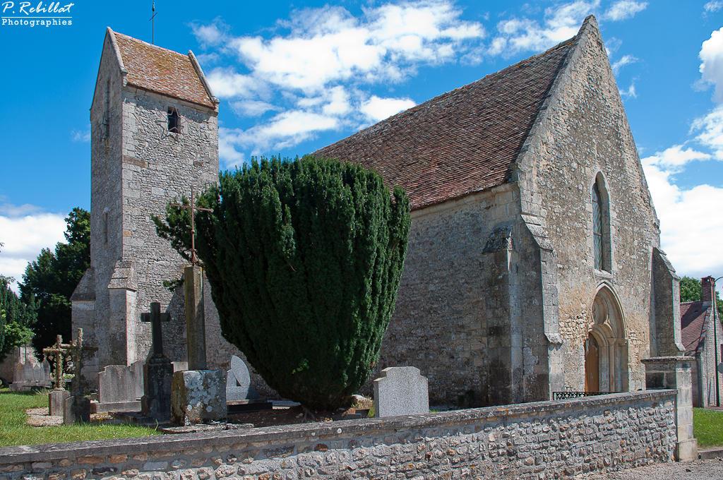 Eglise paroissiale Saint-Aubin à Fontaine le pin.