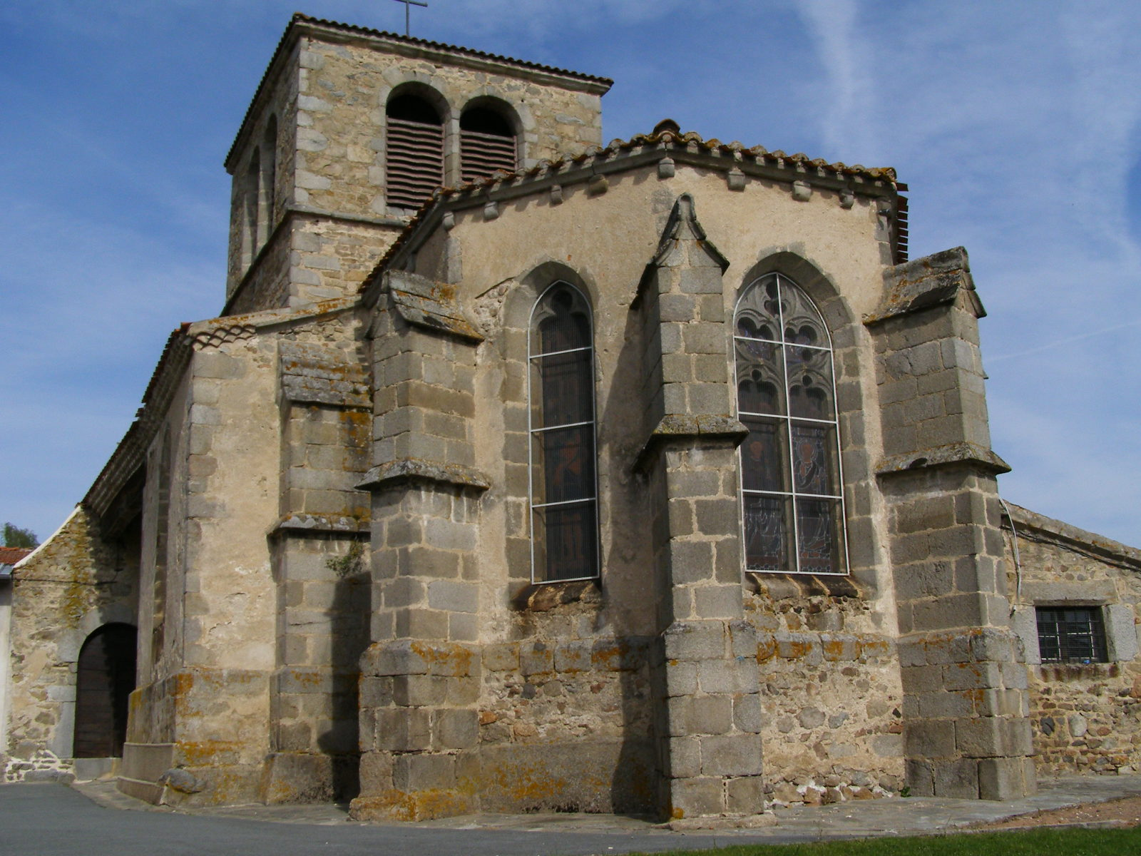 St. Peter Parish Church to Ailleux.