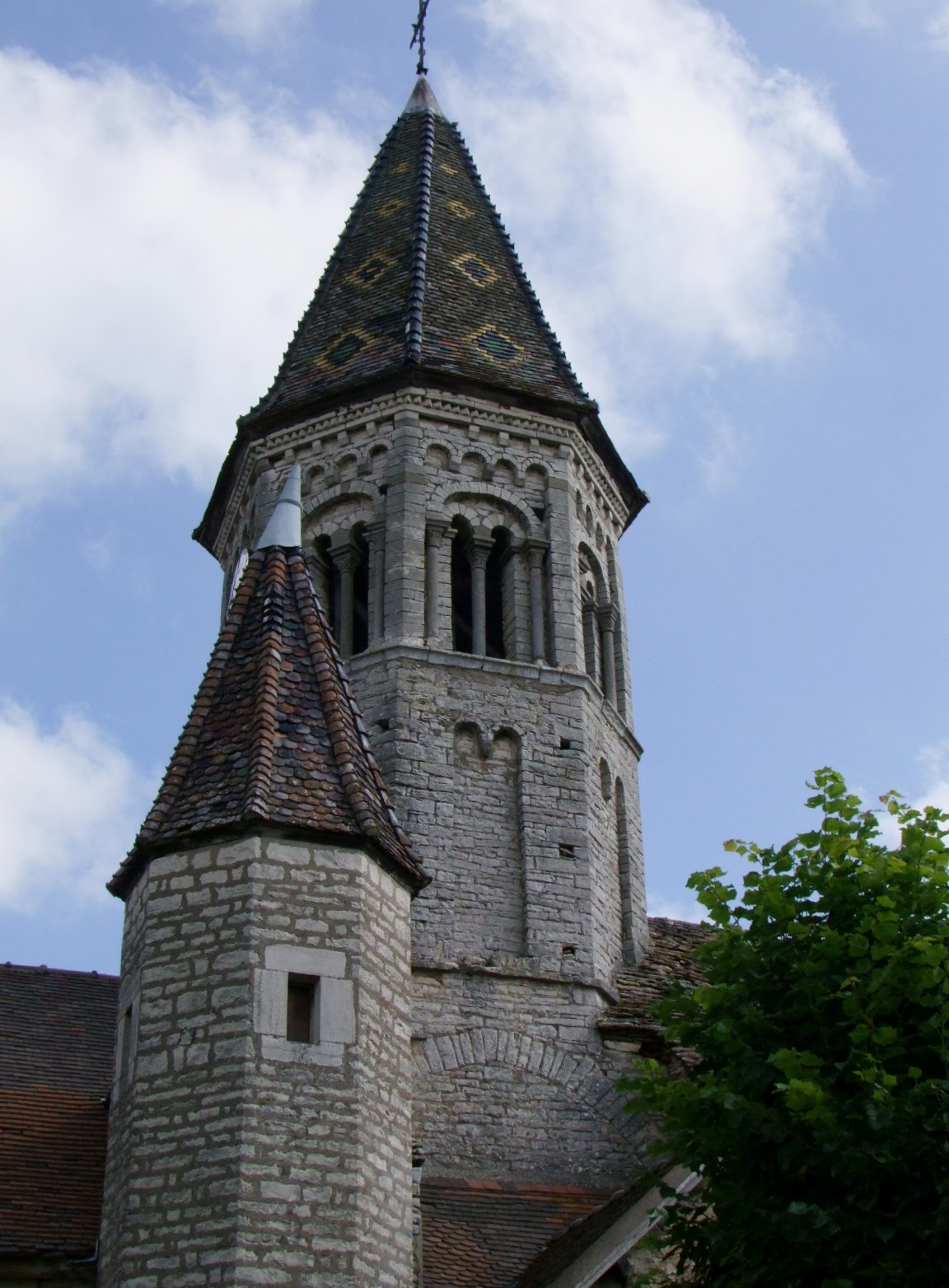Church from Clessé.