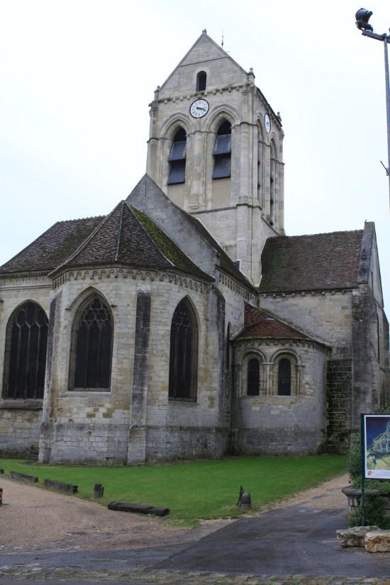 Parish Church of Notre-Dame, French Heritage monument to Auvers sur oise.