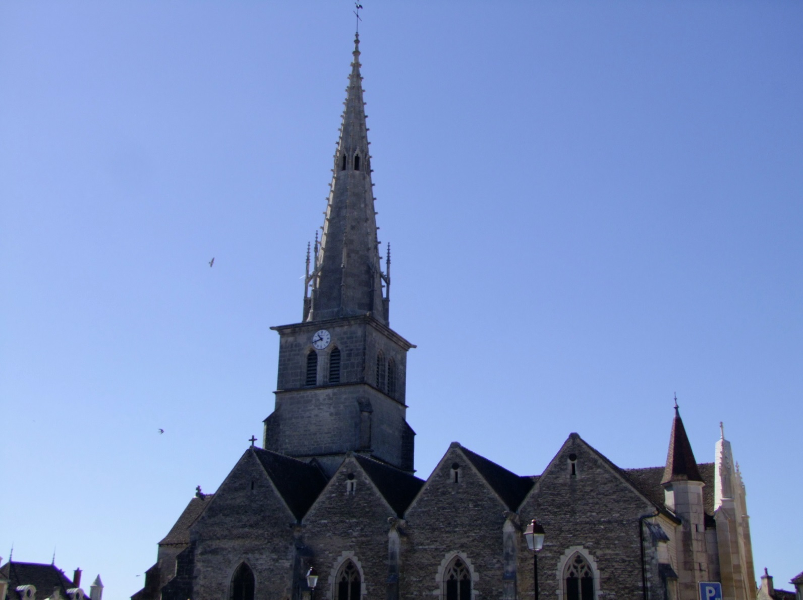Church, French Heritage monument to Meursault.