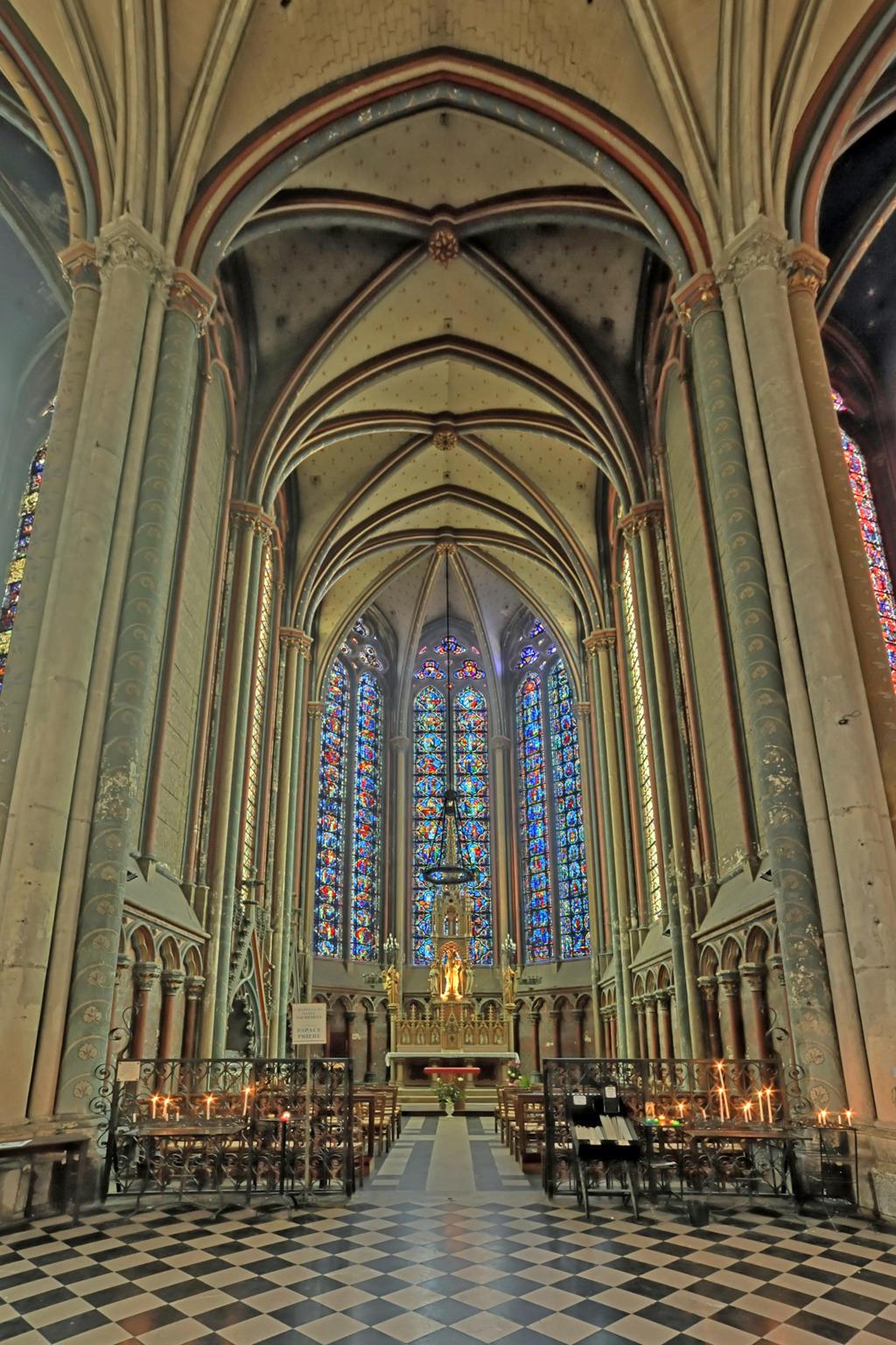 Cathédrale Notre-Dame d'Amiens à Amiens.
