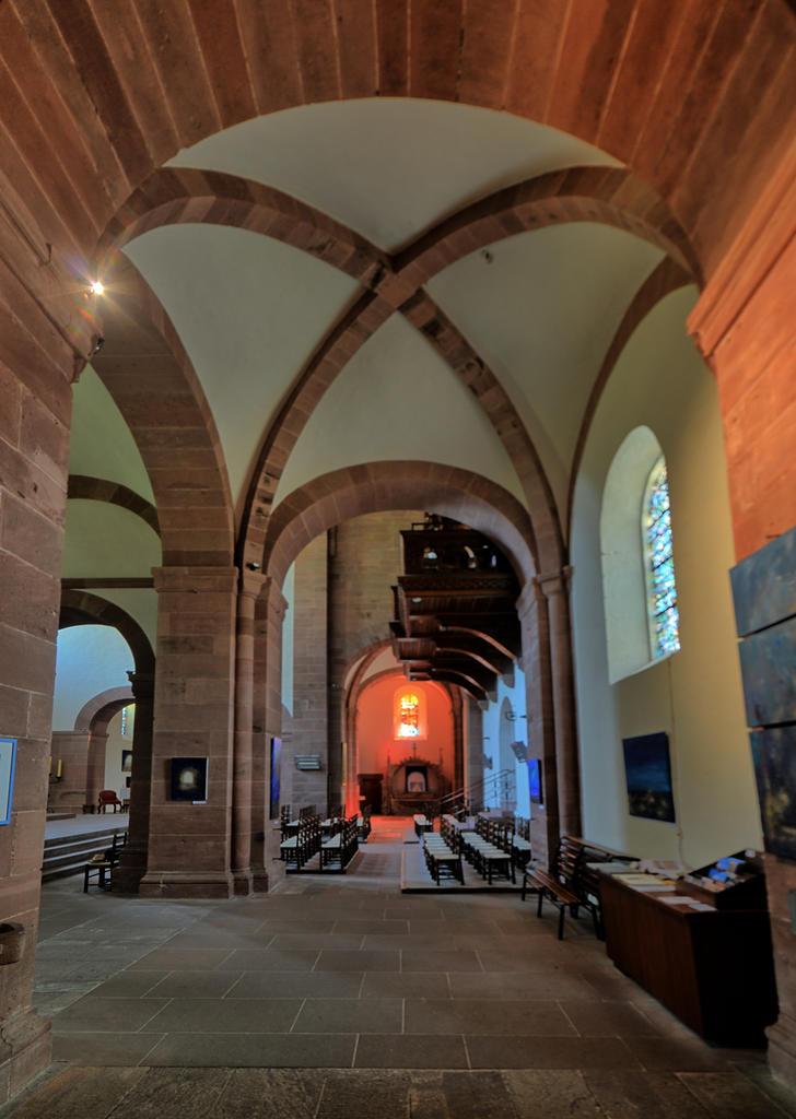 Abbaye de bénédictins à Murbach.