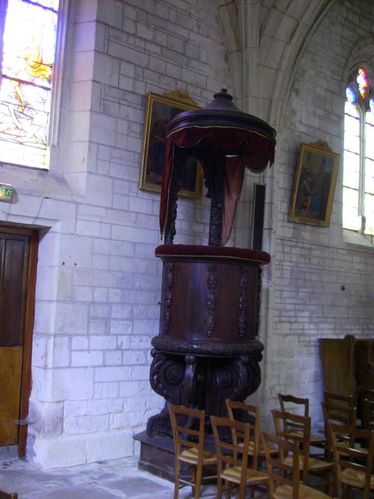 Eglise Paroissiale Notre-Dame à Mirebeau.