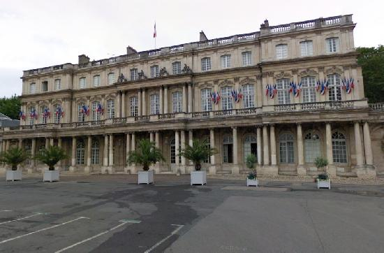 Ensemble immobilier du palais du Gouvernement à Nancy.