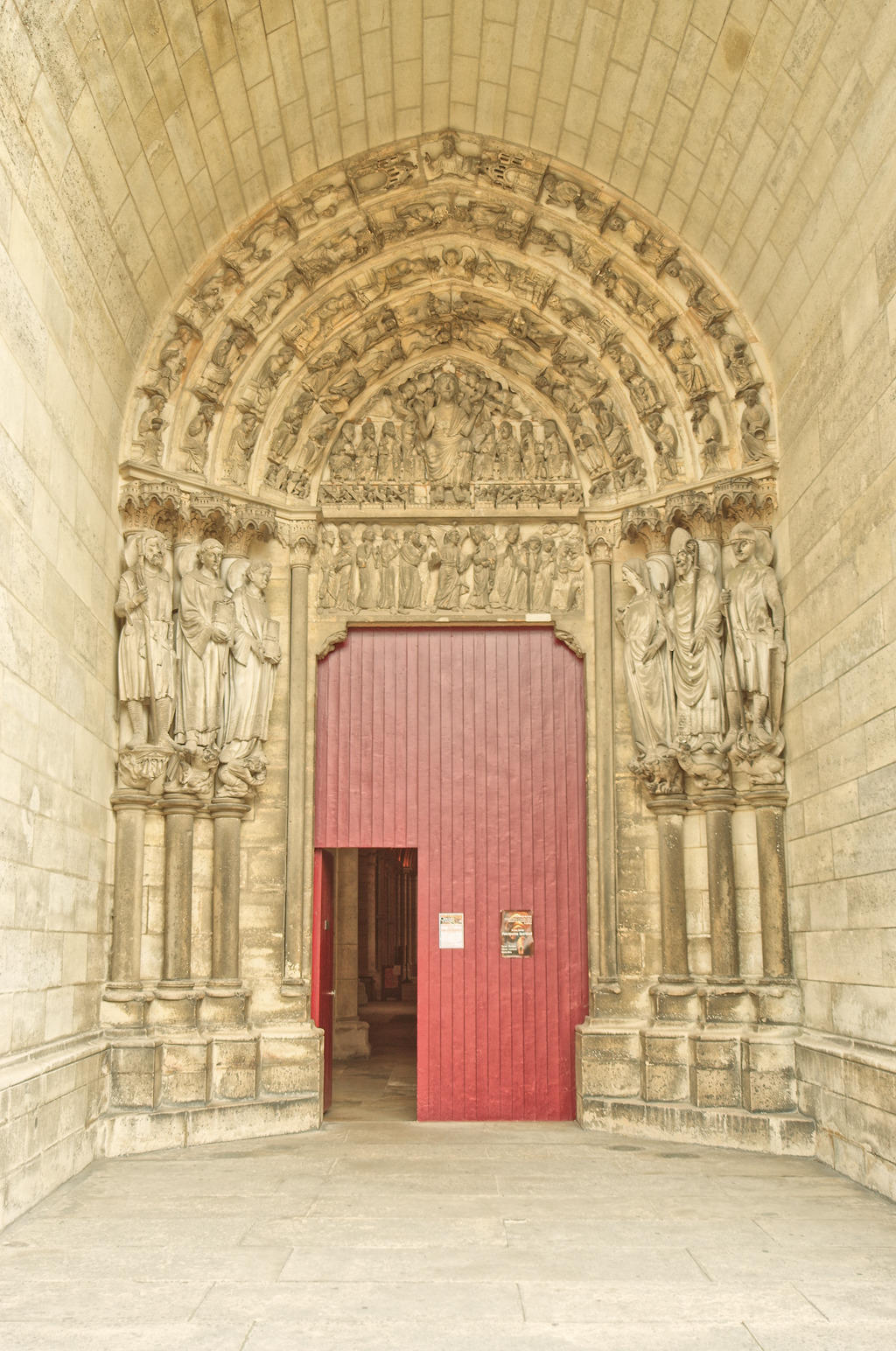 Cathédrale Notre-Dame à Laon.