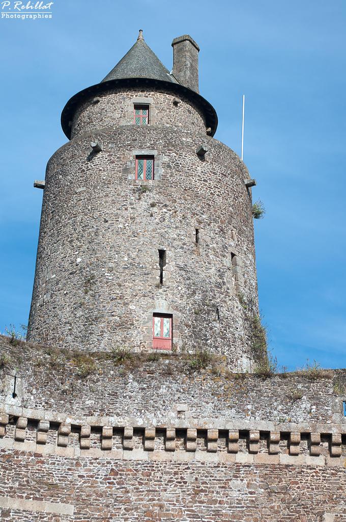 Château Fort à Fougeres.