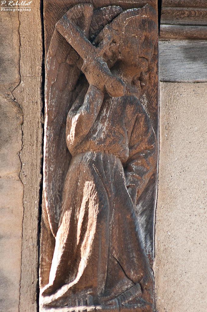 Maison dite d'Adam et Eve à Bayeux.