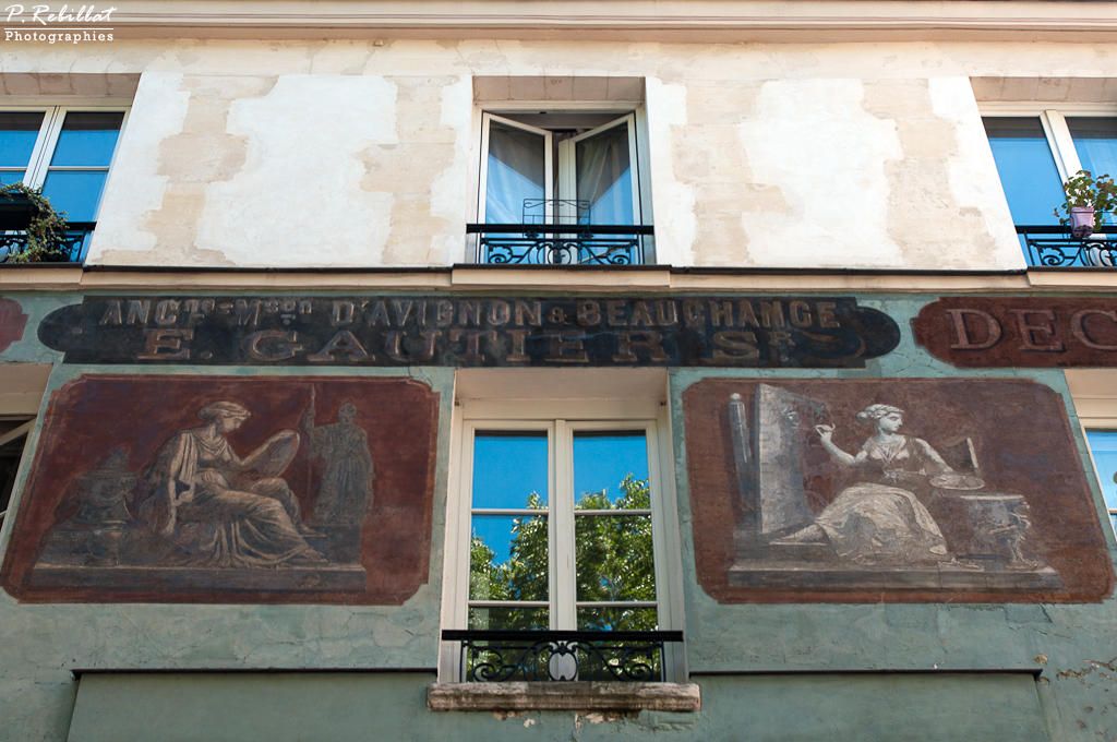 Immeuble 1, 3 rue des Grands-Degrés 2 rue Maître-Albert à Paris 5eme arrondissement.