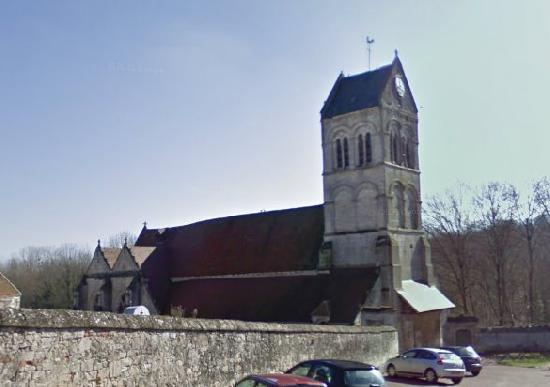 Eglise à Orrouy.