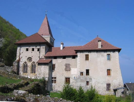 (Former) Priory, French Heritage monument to Meillerie.