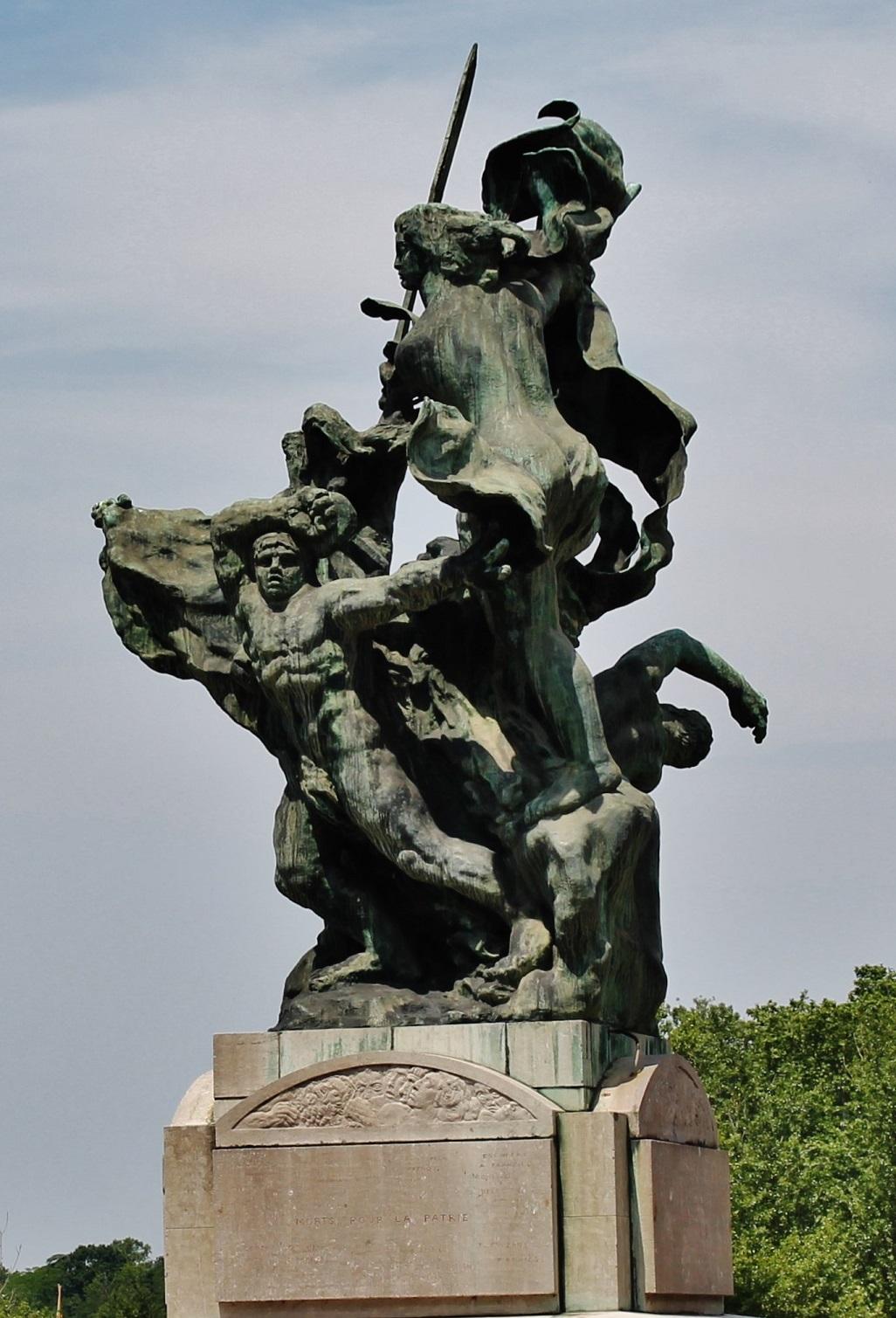 Monument aux morts de la guerre de 1914 - 1918 à Montauban.