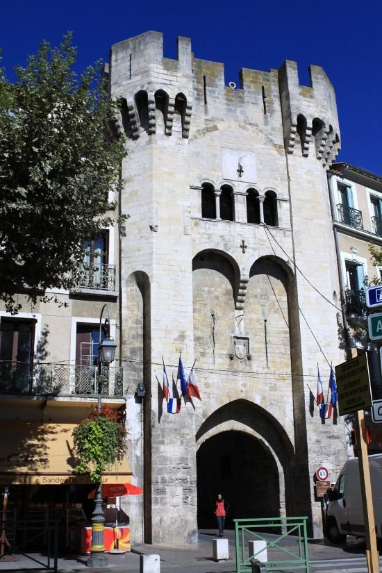 The Saunerie door, French Heritage monument to Manosque.