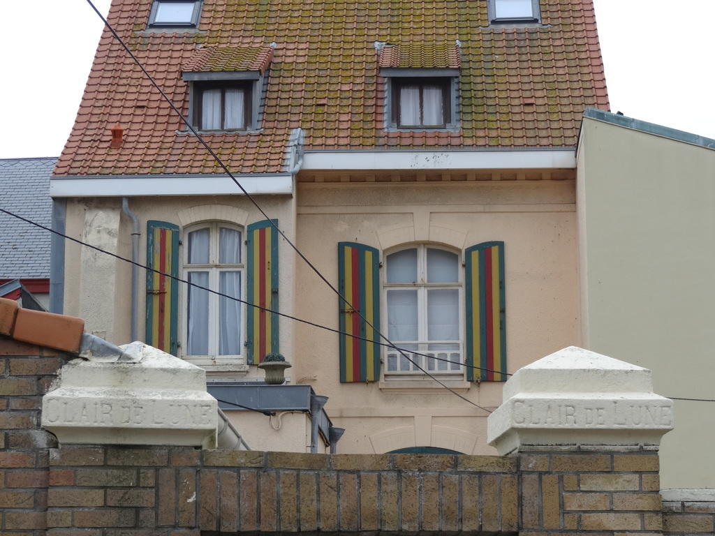 maison dite villa Clair de Lune à Wimereux.