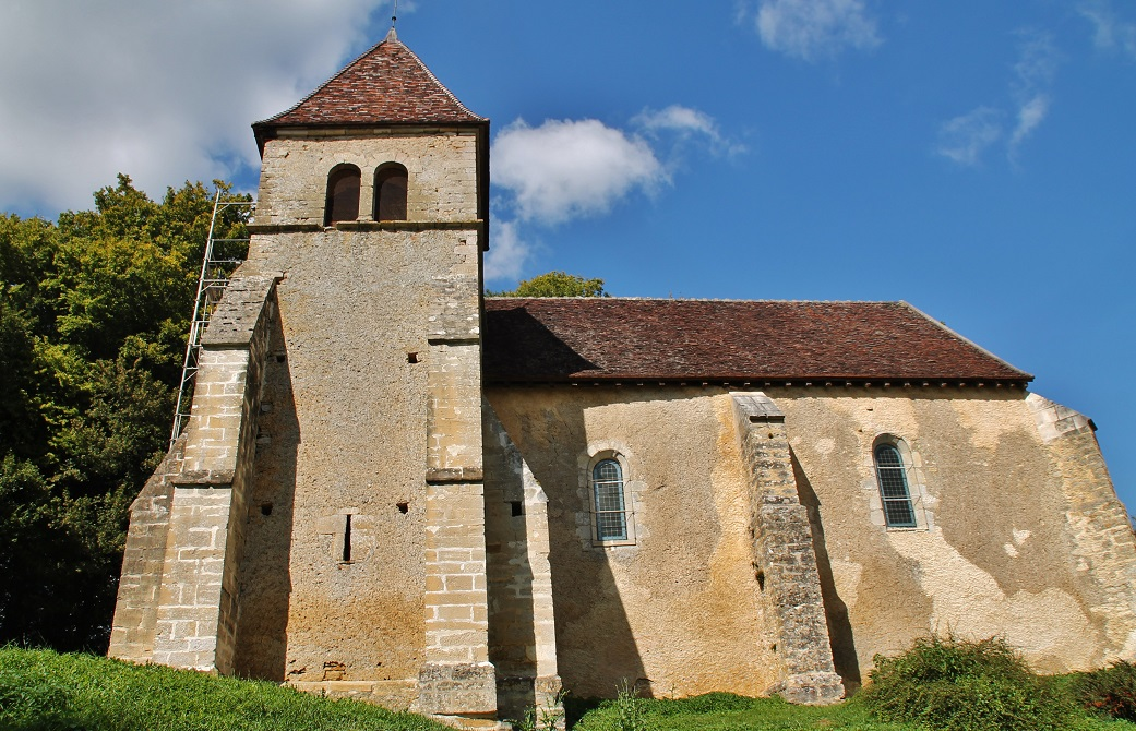 Church of Corbelin to La-Chapelle-st-André.