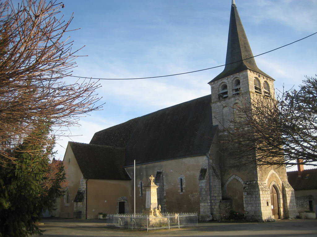 St. Peter Parish Church, French Heritage monument to Pouligny st pierre.