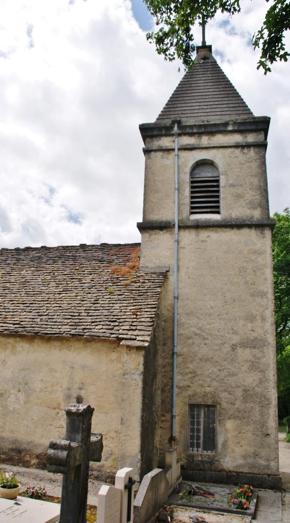 Chapel of Mornay, French Heritage monument to Nurieux volognat.