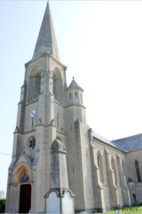Eglise Paroissiale Saint-Etienne à Grainville langannerie.