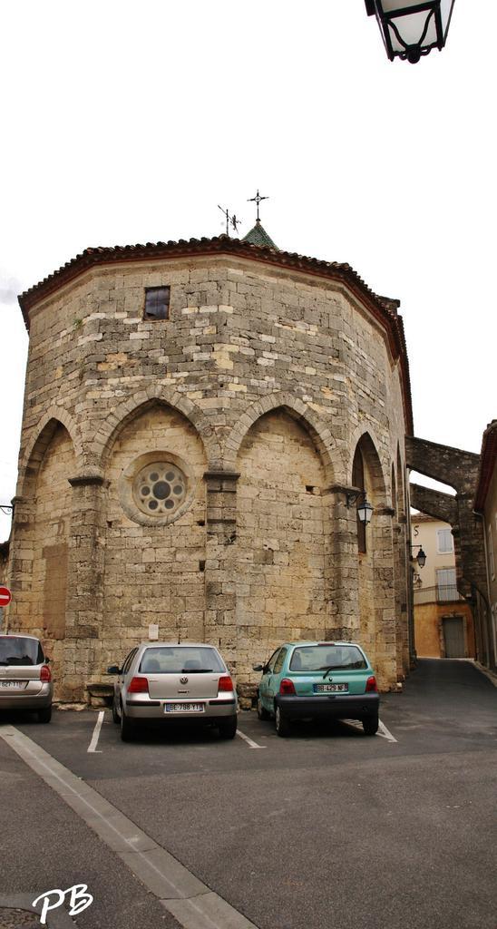 Parish Church, French Heritage monument to St genies de fontedit.