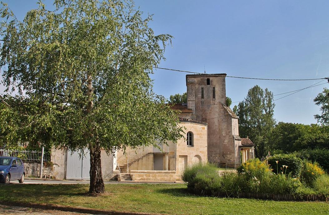 Parish Church St. Martin, French Heritage monument to Bonnetan.
