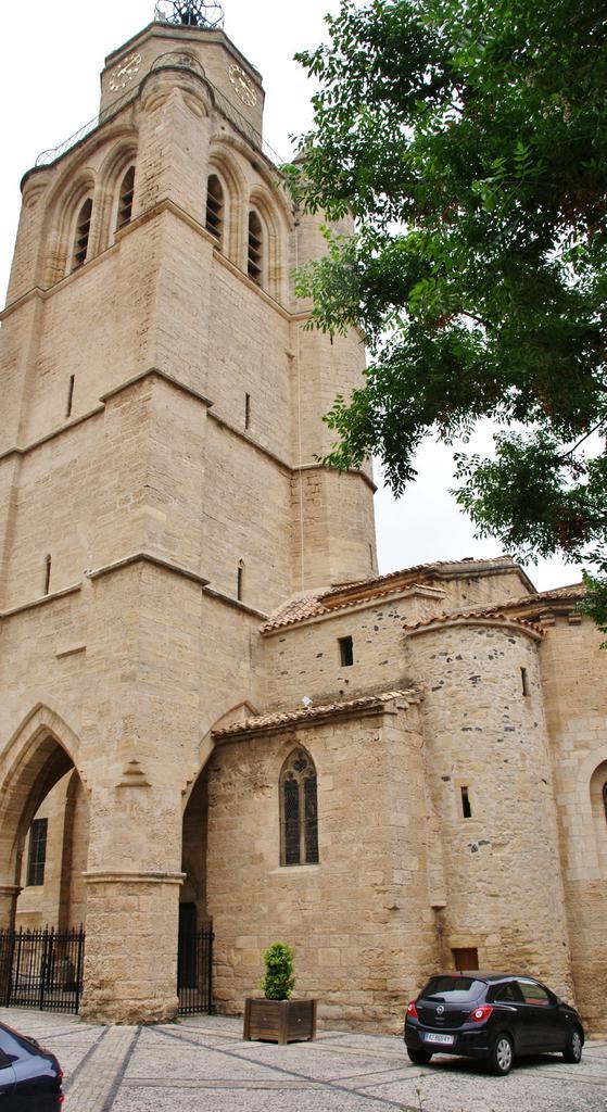 Eglise Saint-Gervais à Caux.