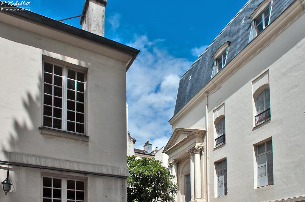 (Old) English Benedictine monastery, French Heritage monument to Paris 5eme arrondissement.