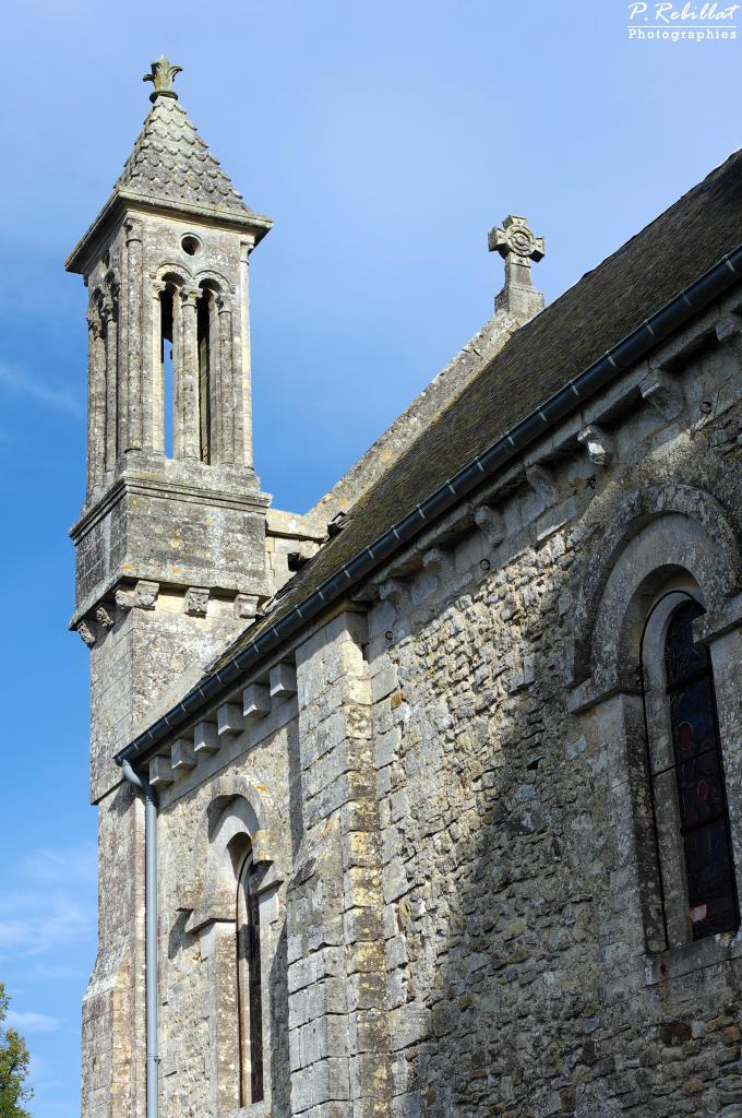 Eglise saint Aubin à Vaux sur aure.