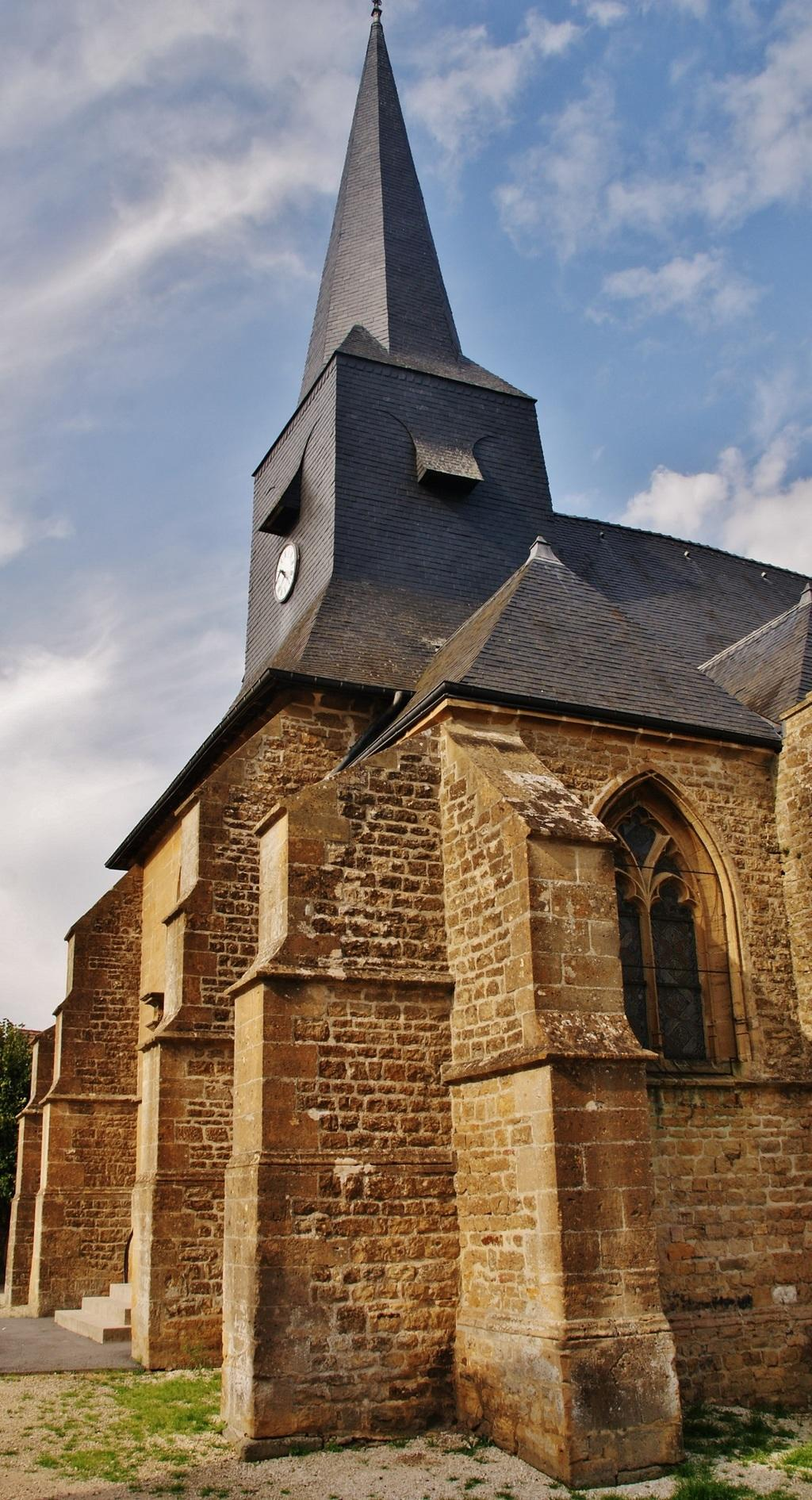 St. Peter's Church, French Heritage monument to Villers semeuse.