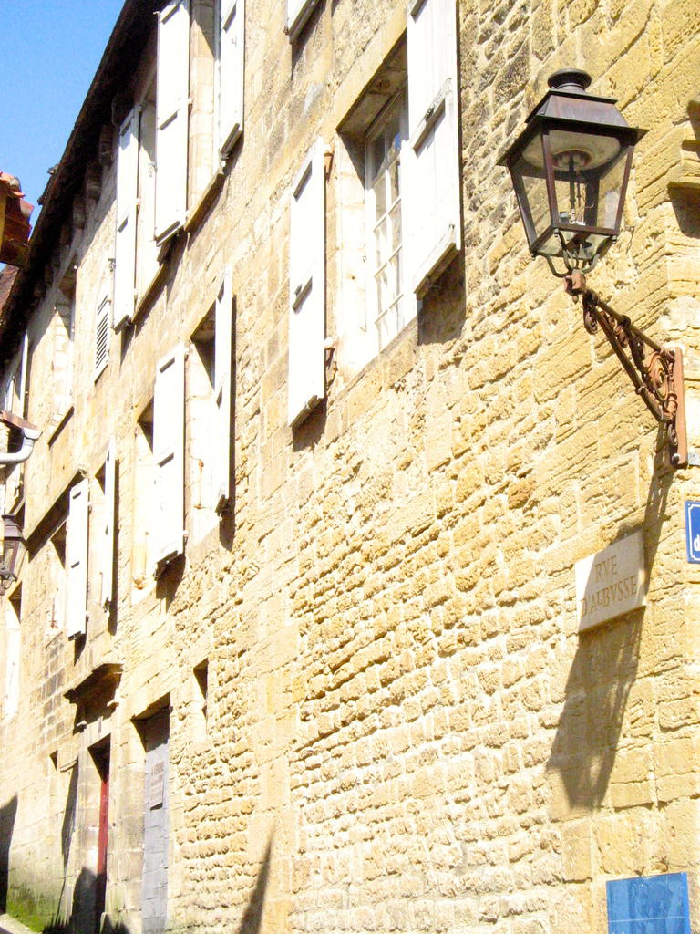 House, French Heritage monument to Sarlat la caneda.
