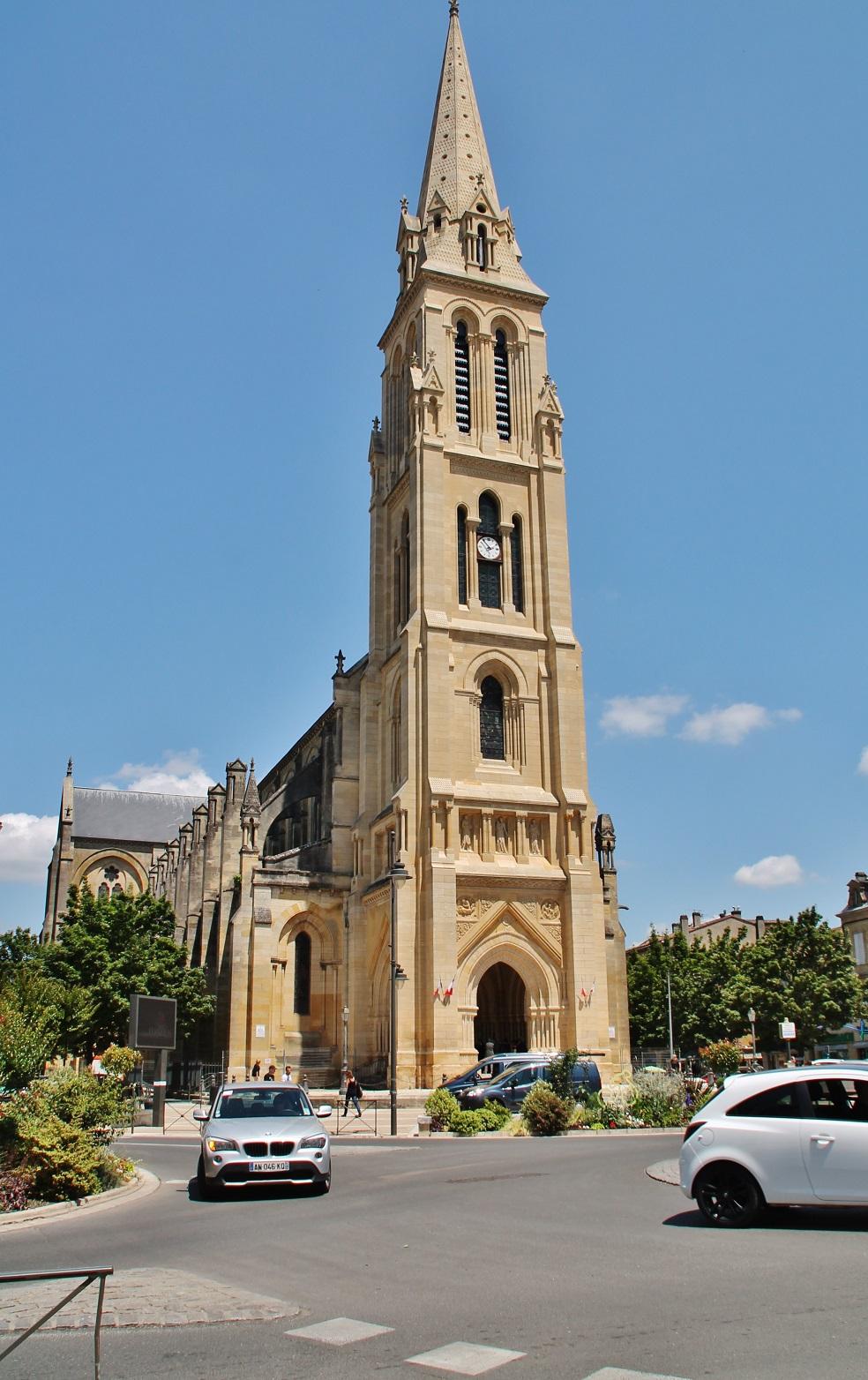 Eglise Notre-Dame � Bergerac Dordogne.