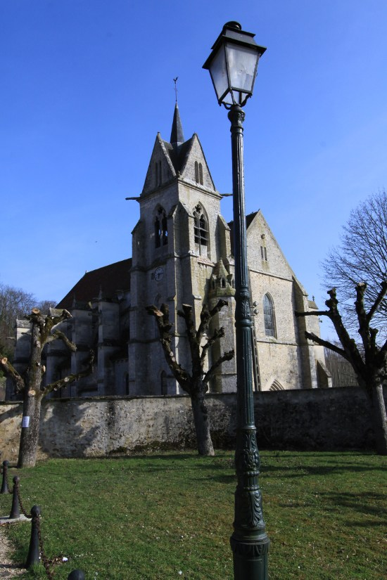 Church of Notre-Dame of the Chapelle-sur-Crécy, French Heritage monument to Crecy la chapelle.