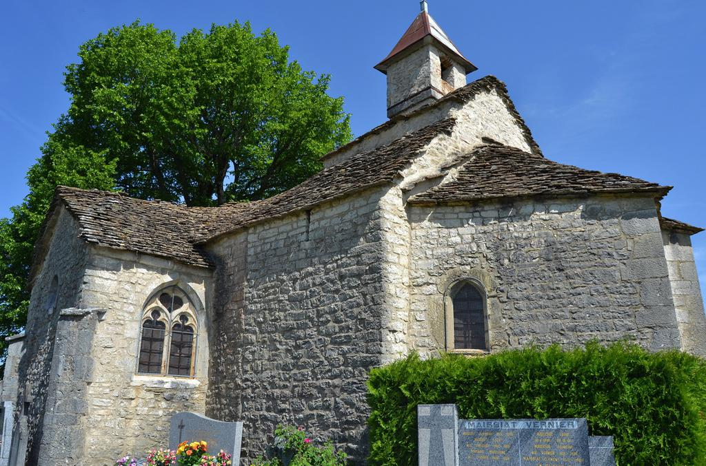 Church stables, French Heritage monument to Ceignes.