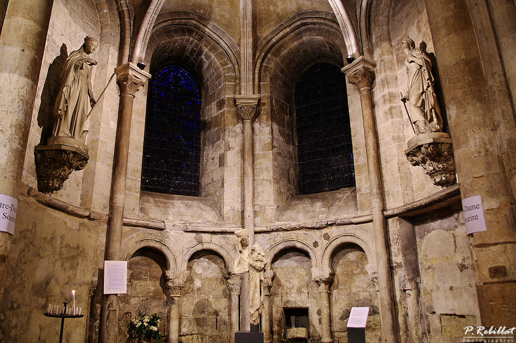 Church of Saint-Germain-des-Prés, French Heritage monument to Paris 6eme arrondissement.
