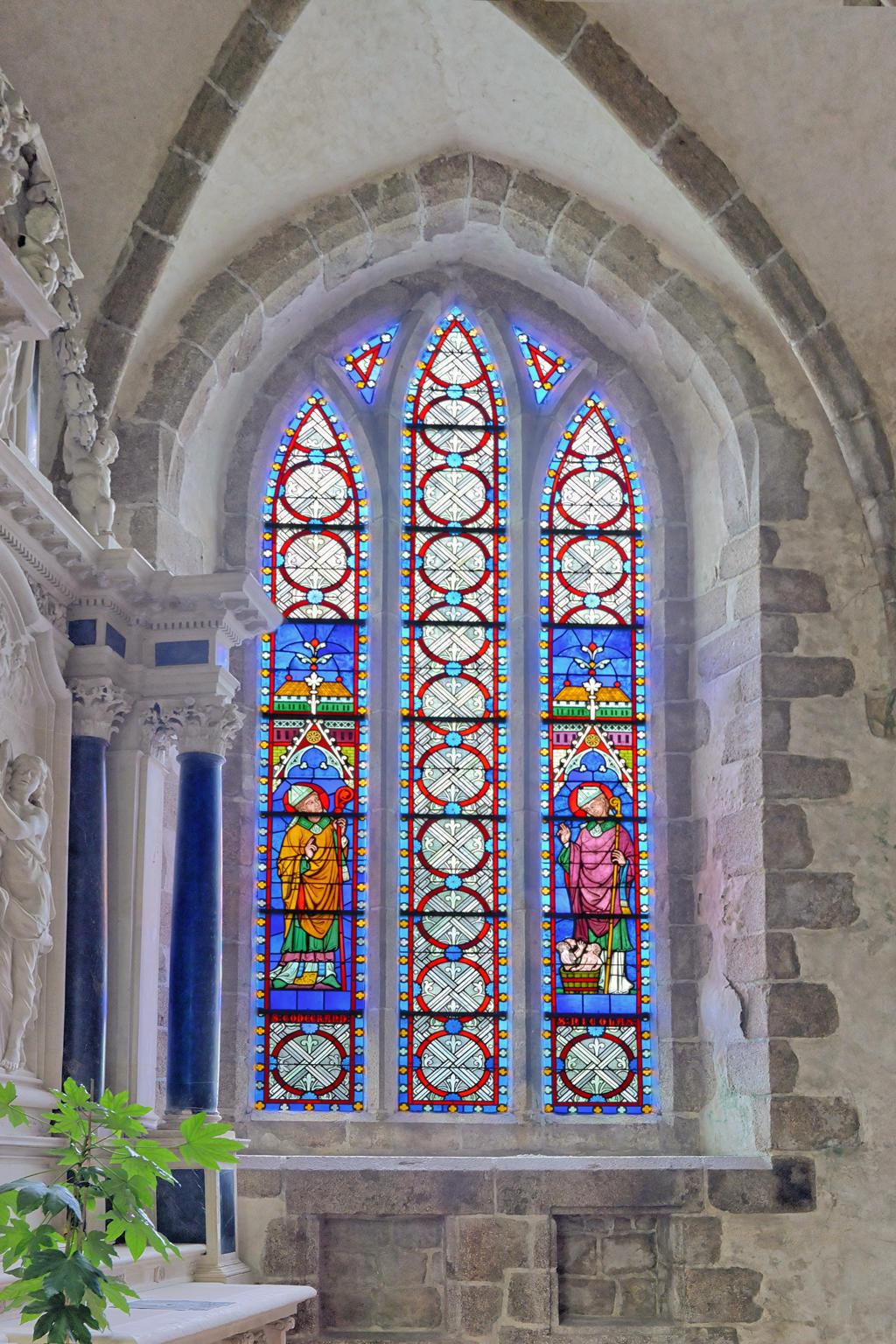 Eglise Notre-Dame à Lonlay l abbaye.