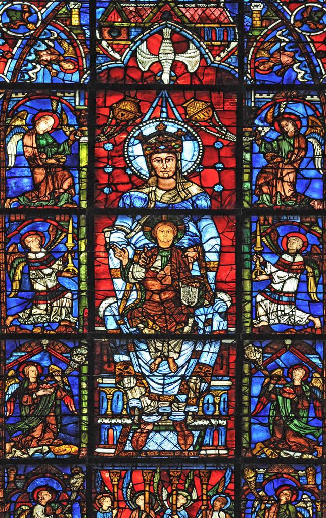 cathédrale Notre-Dame à Chartres.