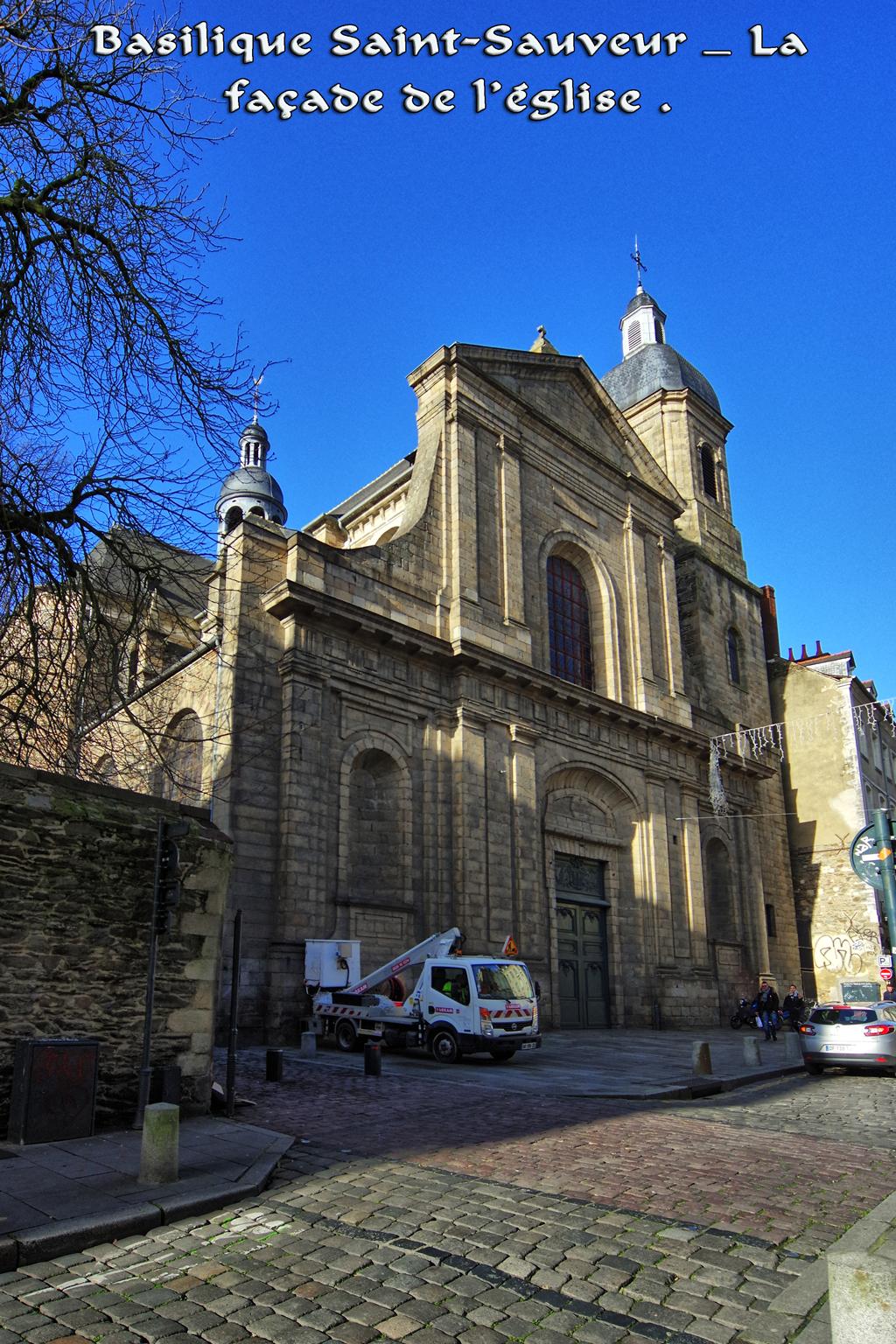 Basilique Saint-Sauveur par gerardgg