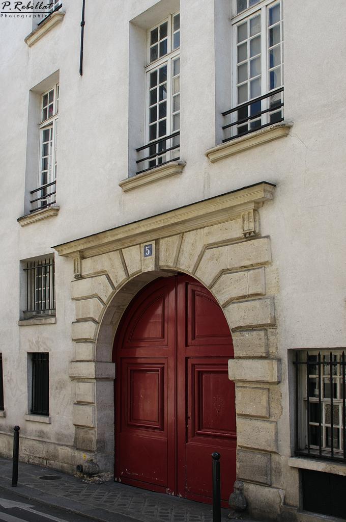 Hôtel des Abbés de Fécamp à Paris 6eme arrondissement.